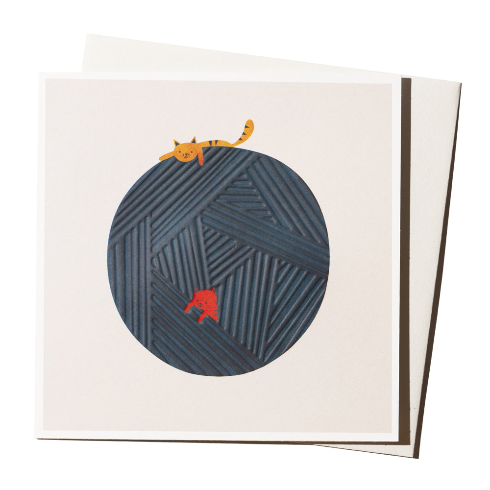 'Ball Of Wool' Card
