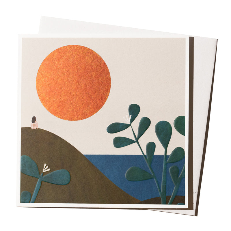 'Dune Sunset' Card
