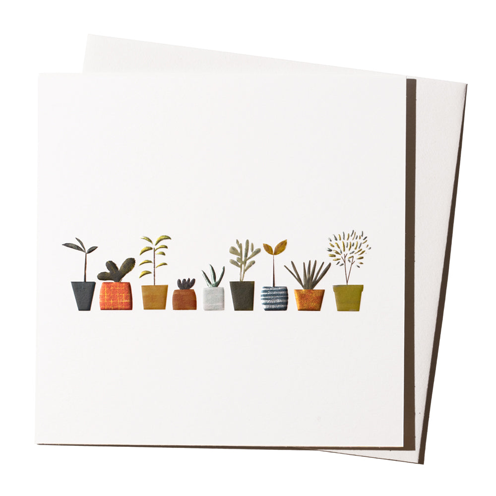 'Little Plants' Card
