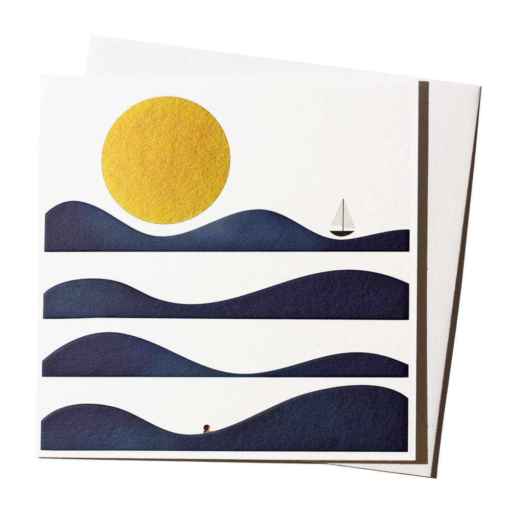 'Wave Bather' Card
