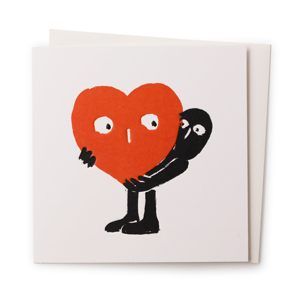 'I Carry Your Heart' Card