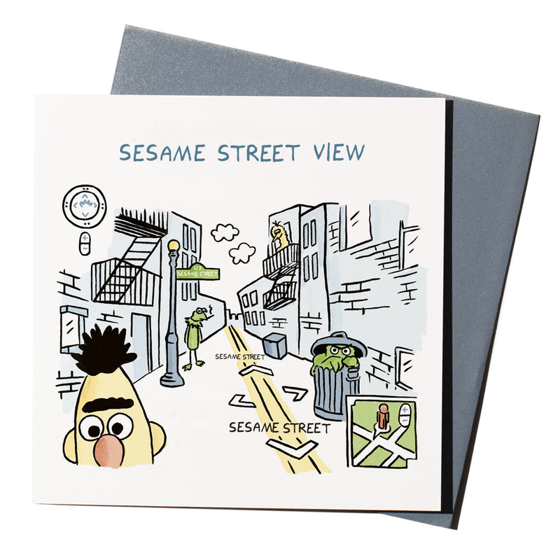 'Sesame Street View' Card