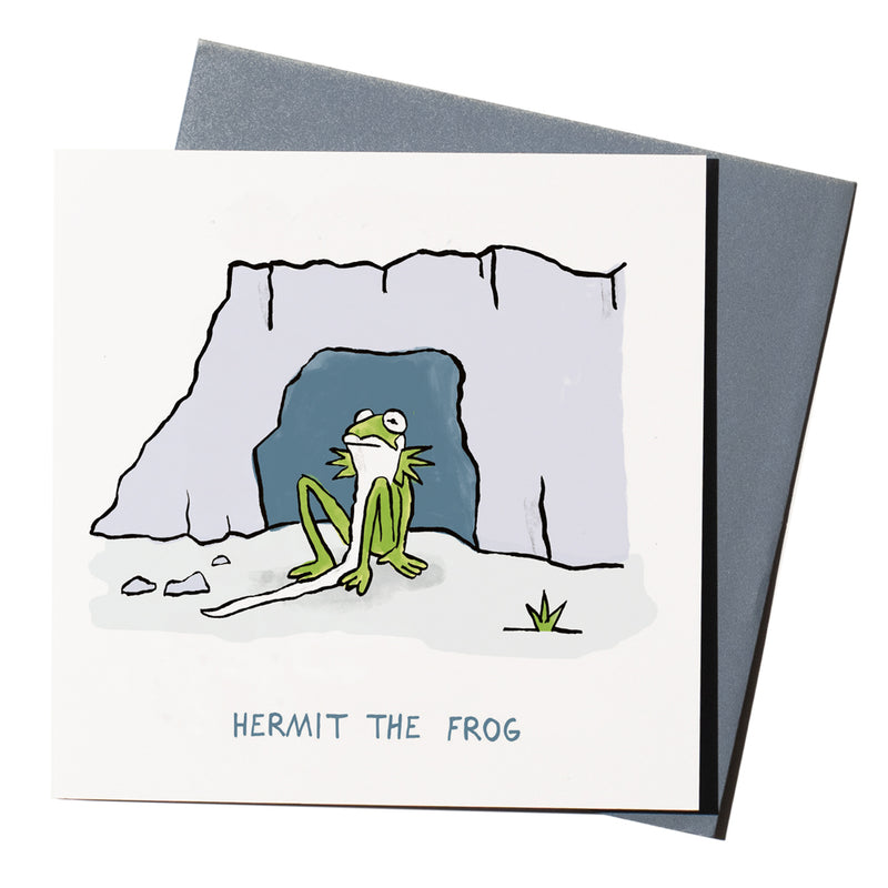 'Hermit The Frog' Card