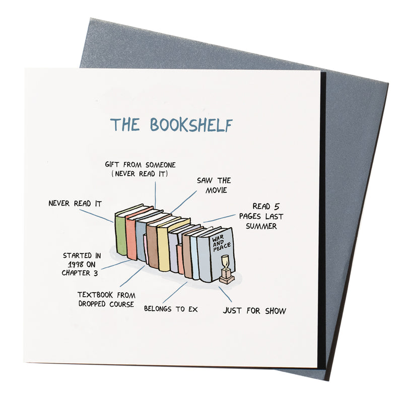 'The Bookshelf' Card