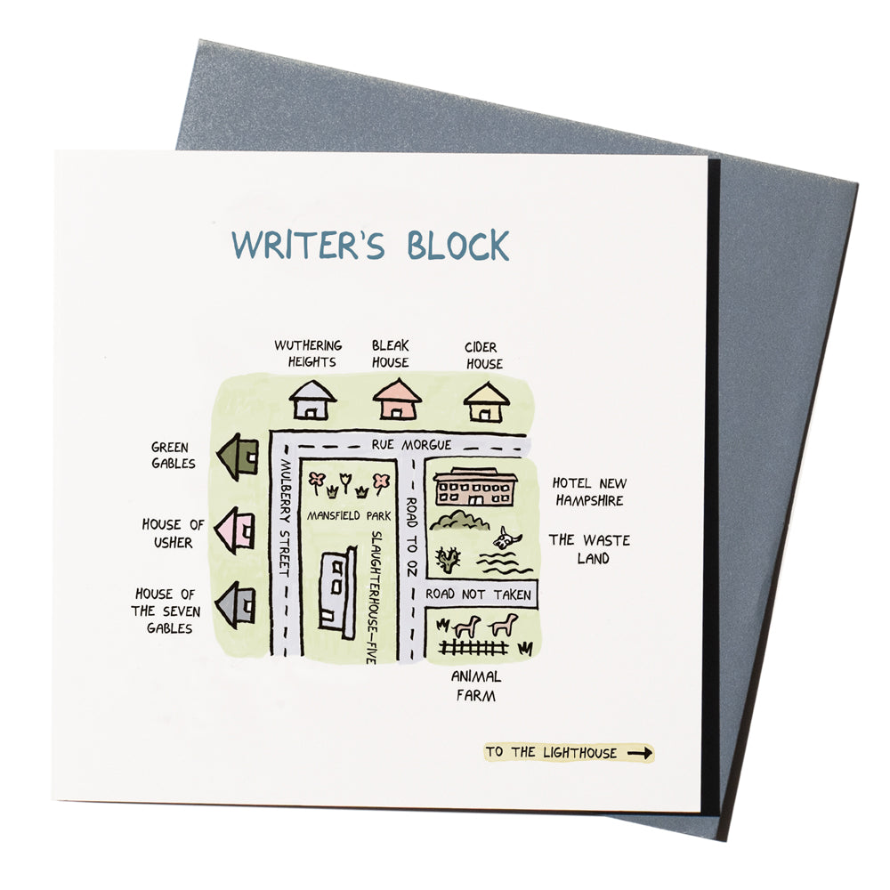'Writer's Block' Card