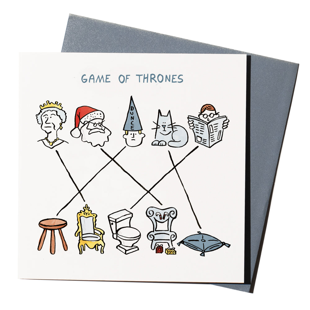 'Game Of Thrones' Card