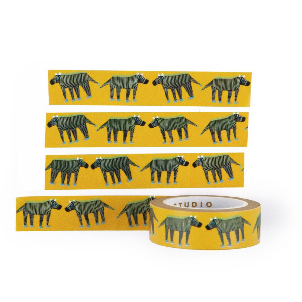 'Zebras' Washi Tape by USTUDIO