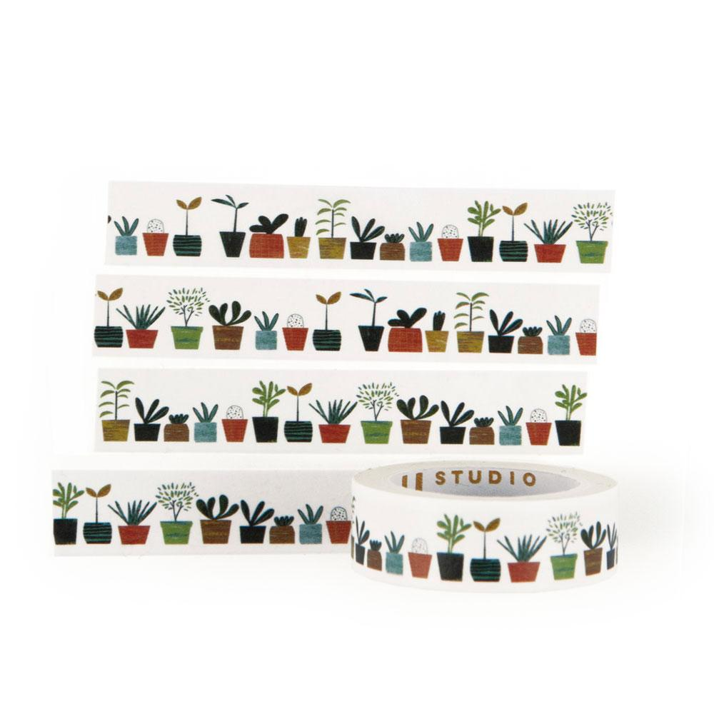'Little Plants' Washi Tape by Blanca Gomez