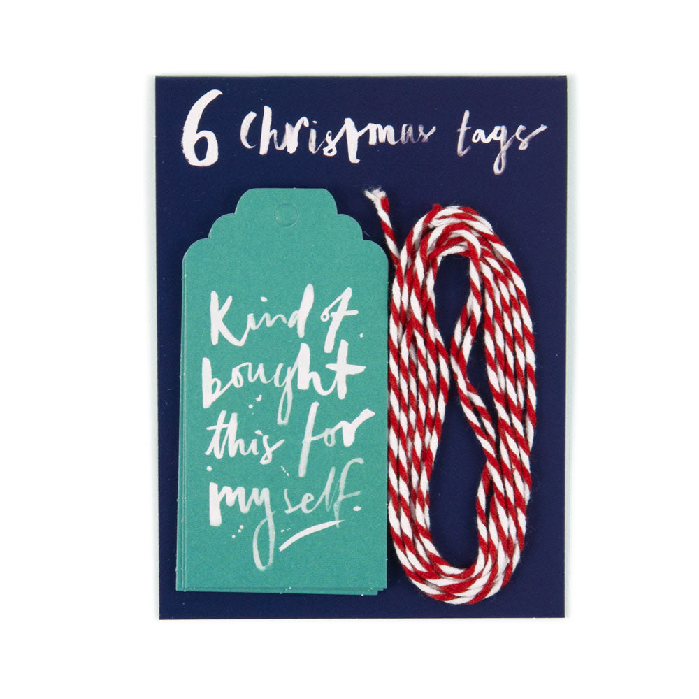 'Kind Of Bought this for Myself' Christmas Gift Tags
