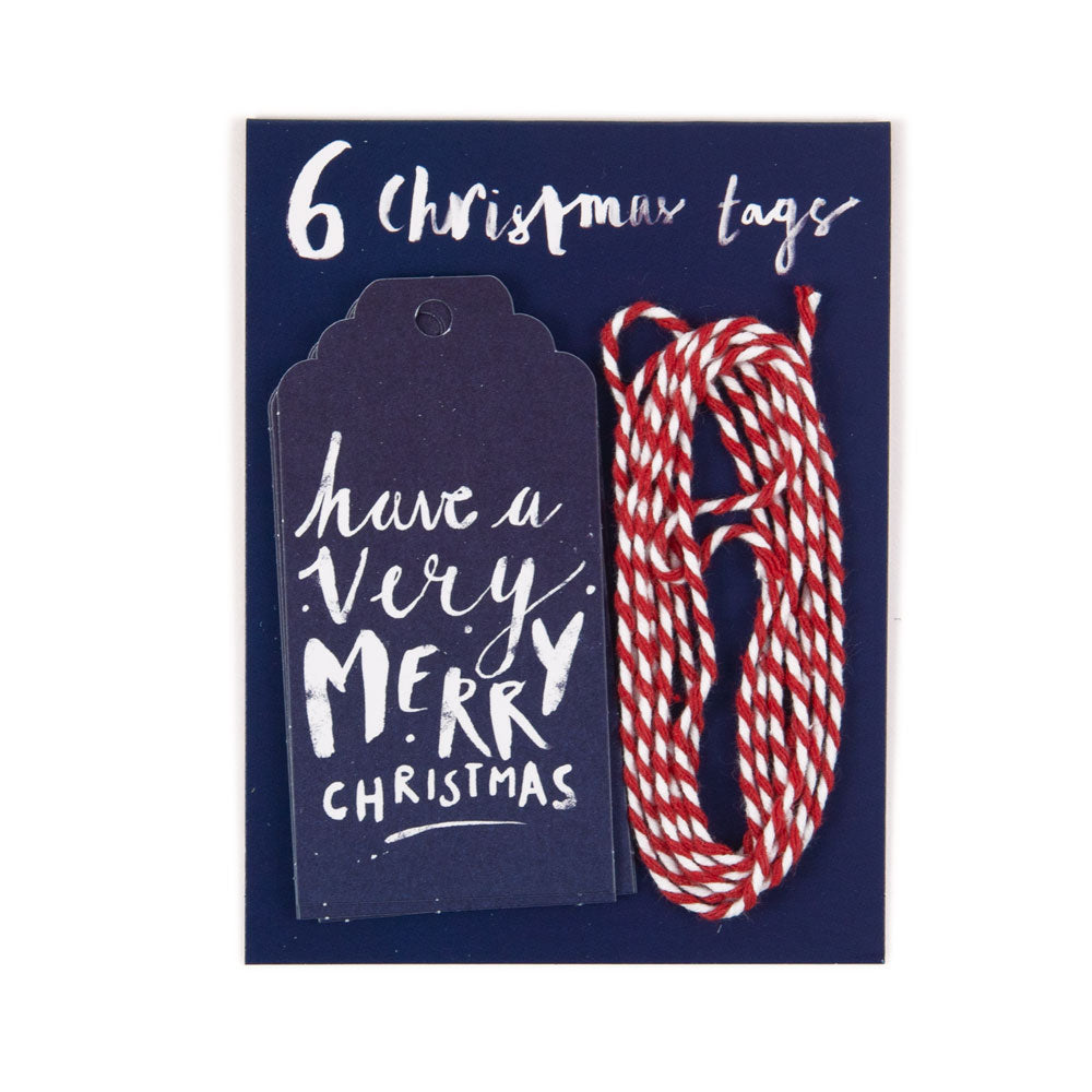 'Have A Very Merry Christmas' Christmas Gift Tags