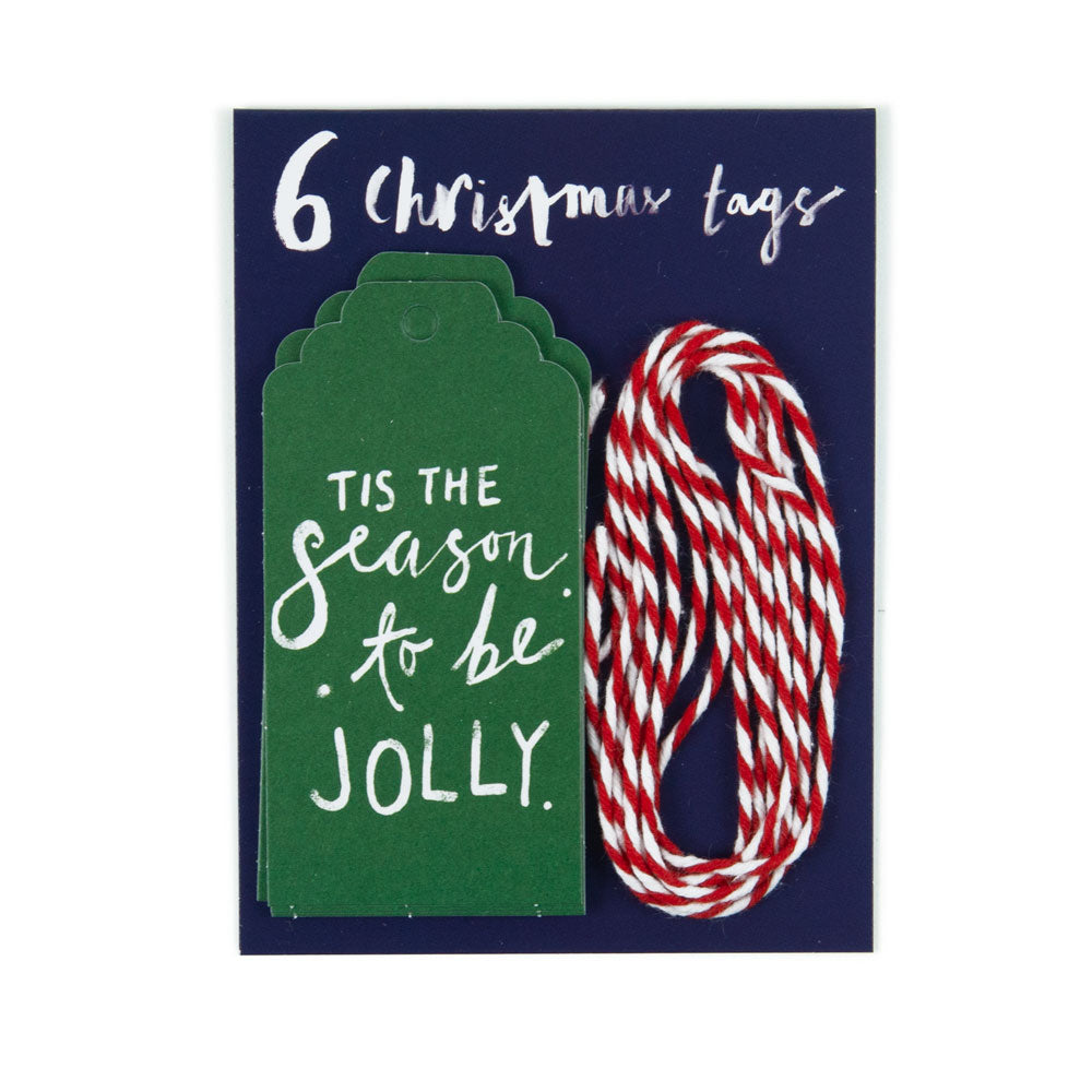 'Tis The Season Tag' Christmas Gift Tags
