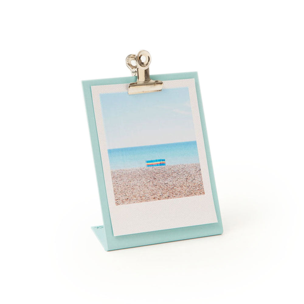 'Clipboard Frame' Light Blue Photo Frame