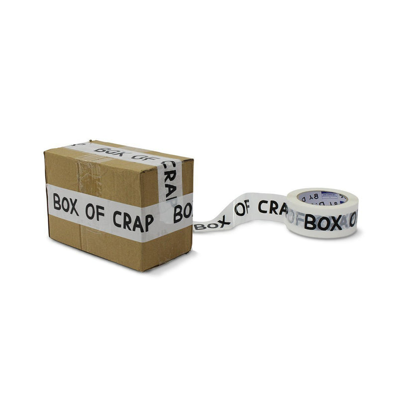 'Box of Crap' Packing Tape