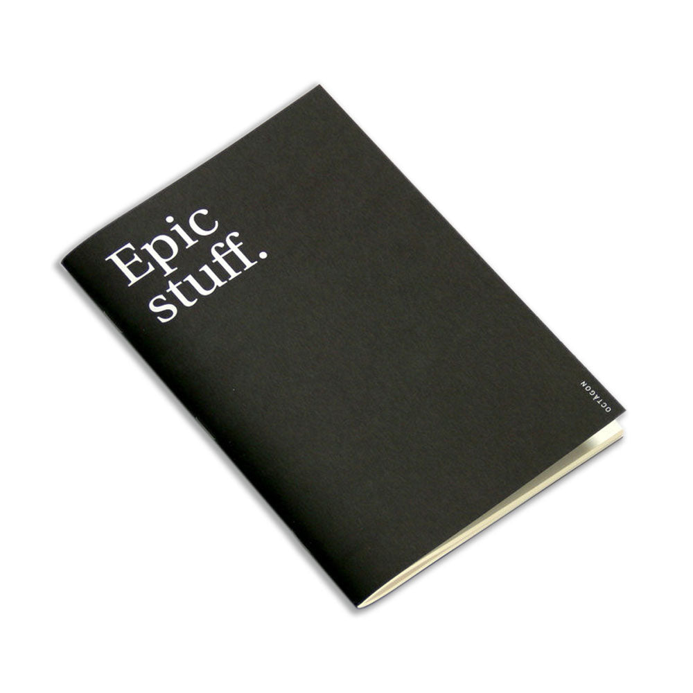'Epic Stuff' Notebook (A5)