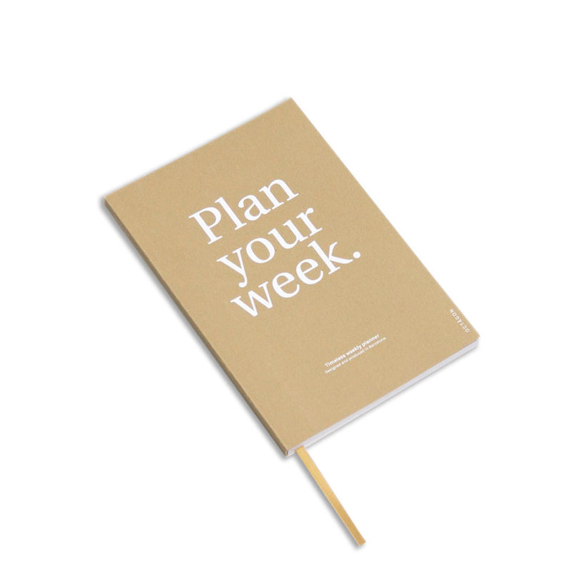 'Plan Your Week' Weekly Planner (A5)