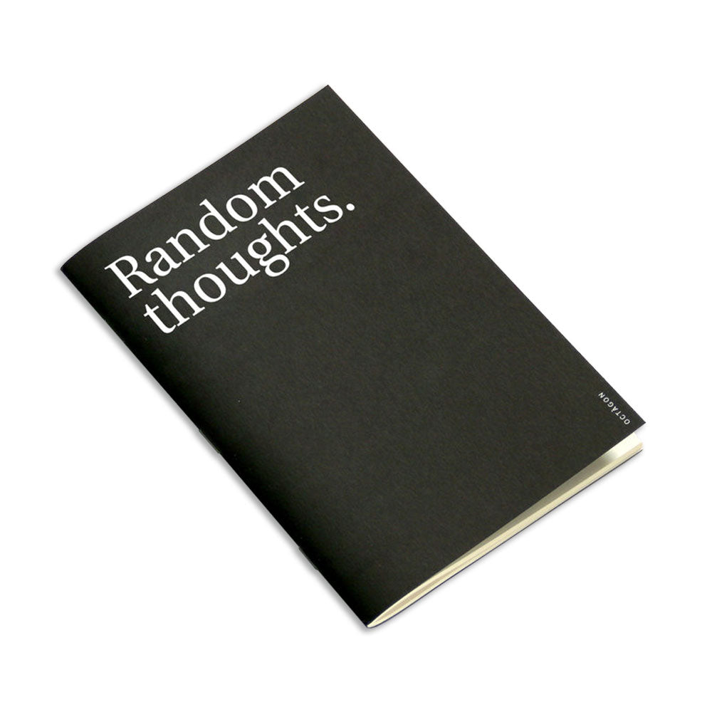 'Random Thoughts' Notebook (A5)