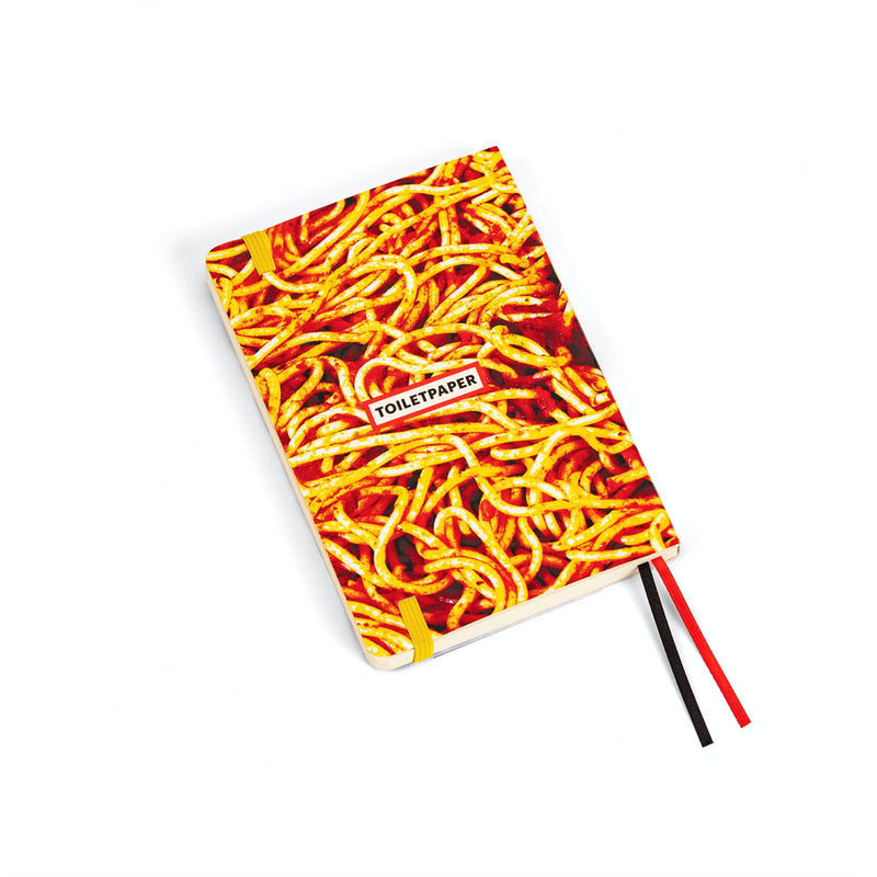 'Spaghetti' Plain Notebook (A6)