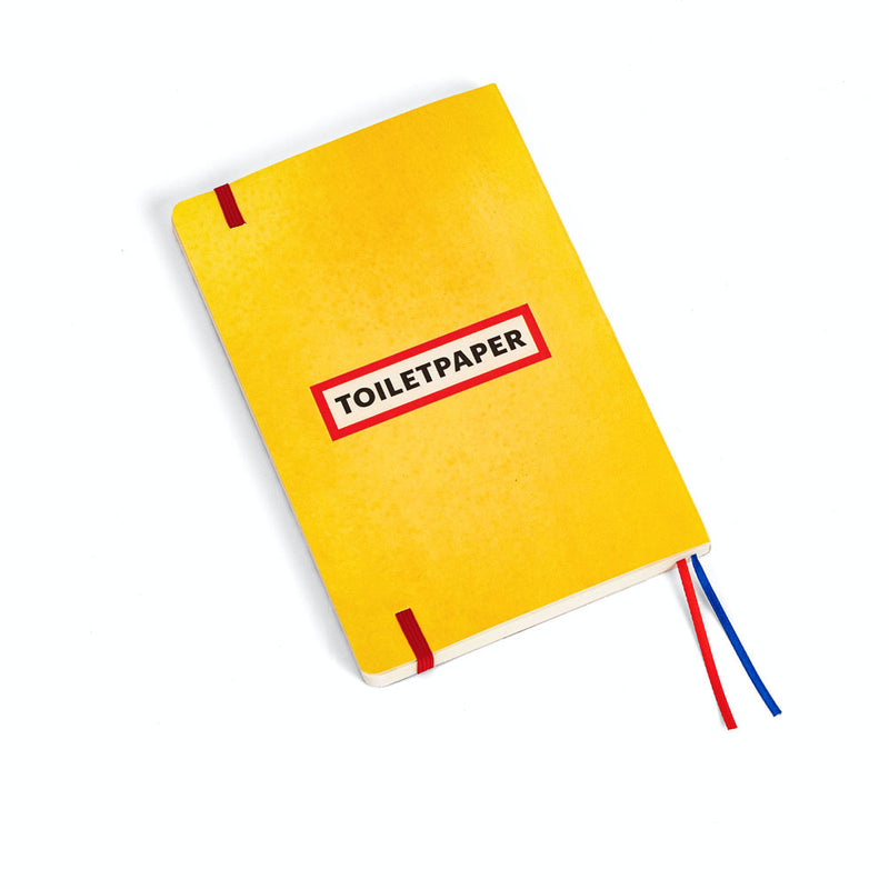 'Toothpaste' Notebook (A5)