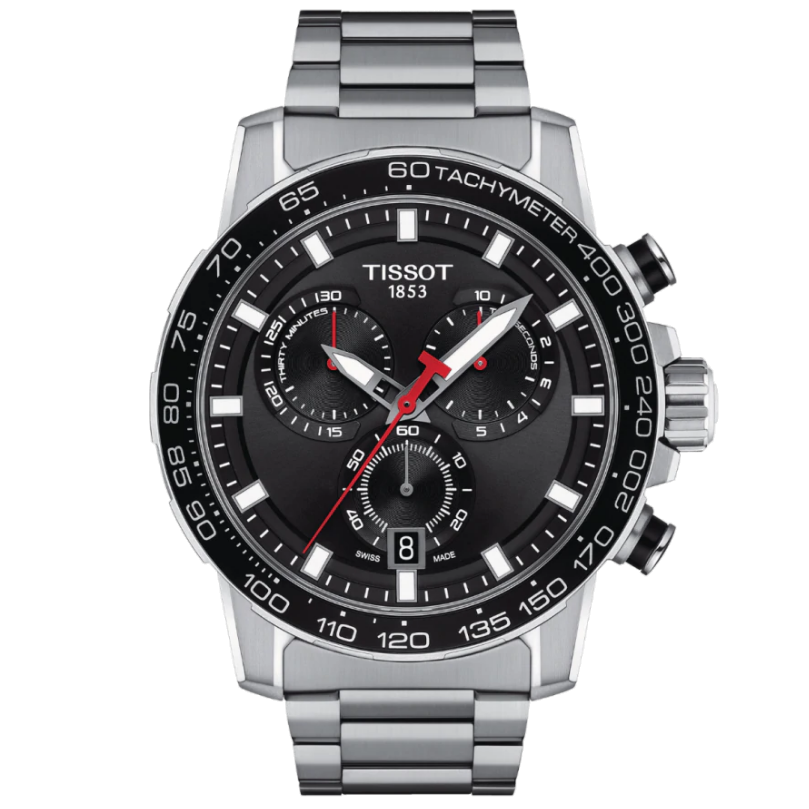 Orologio Tissot Supersport Chrono T125.617.11.051.00 45mm-2b Gioielli