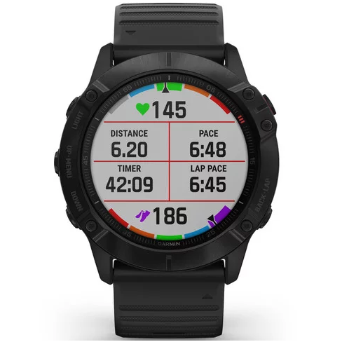 Orologio Garmin Fenix 6x Pro 010-02157-01 Black 51 mm