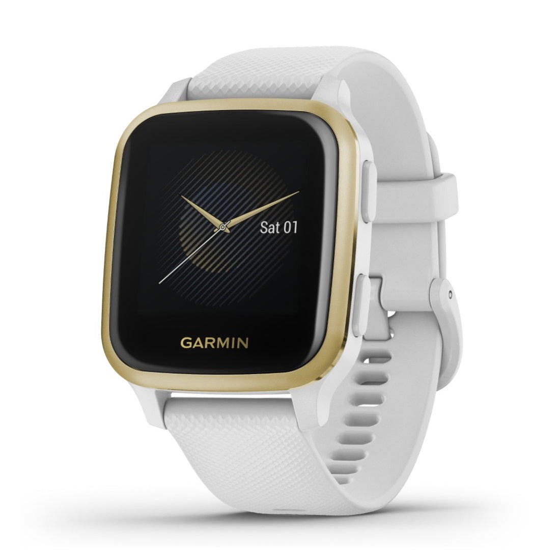 Orologio Garmin Venu SQ 010-02427-11 White Light Gold-2b Gioielli
