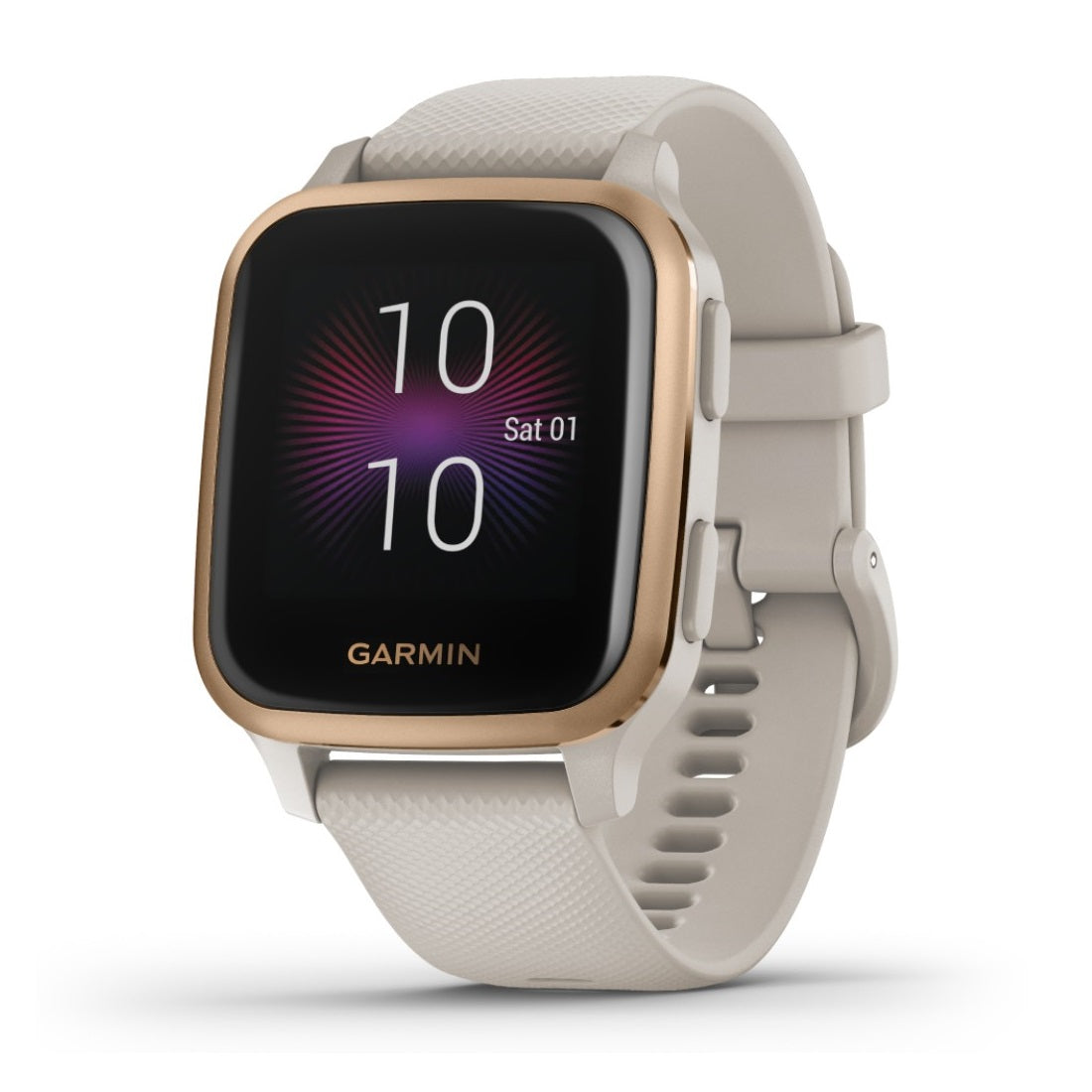 Orologio Garmin Venu SQ Music Edition 010-02426-11 Light Sand Rose Gold-2b Gioielli