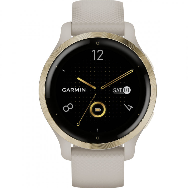 Orologio Garmin Venu 2s 010-02429-11 Light Sand 40 mm-2b Gioielli