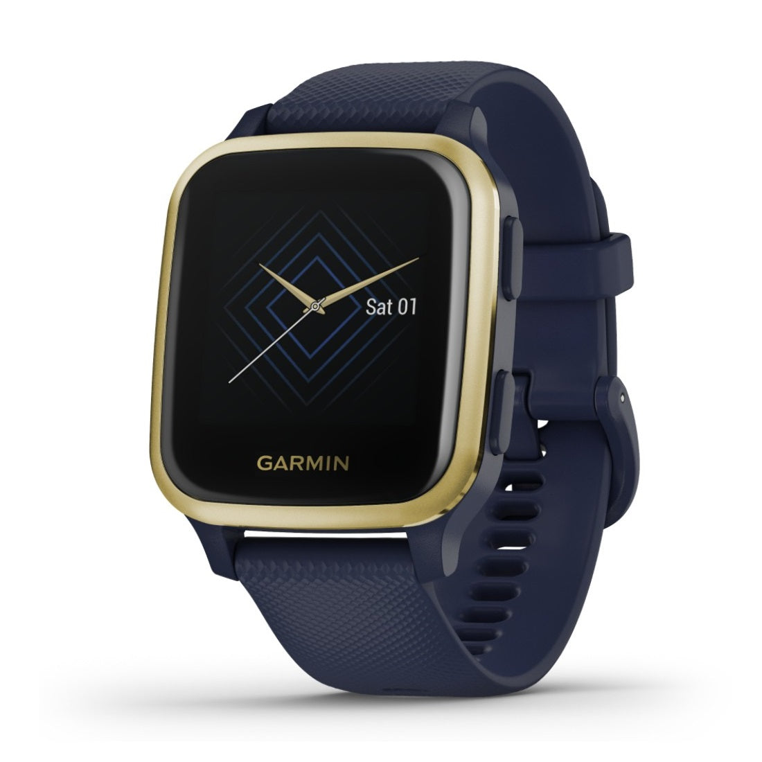 Orologio Garmin Venu SQ Music Edition 010-02426-12 Navy Light Gold-2b Gioielli