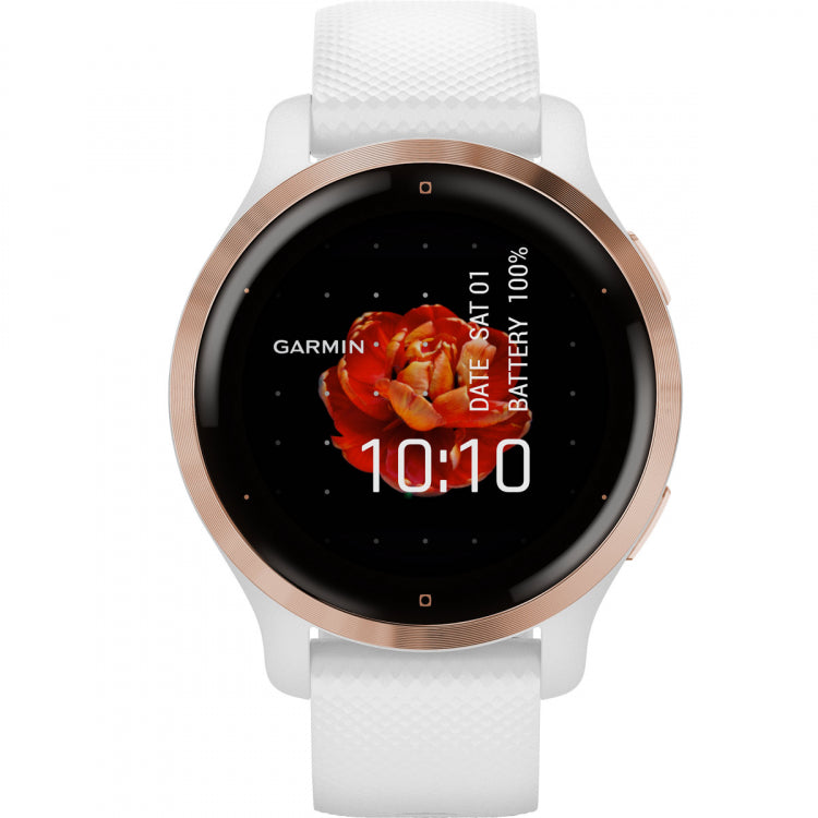 Orologio Garmin Venu 2s 010-02429-13 Rose Gold White 40 mm-2b Gioielli