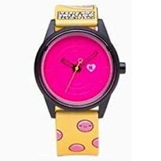 Orologio Smile Solar RP00J834Y Harajuku Lovers I've always got time for pizza