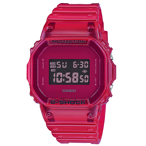 Orologio Casio G-Shock DW-5600SB-4ER Color Skeleton Series-2b Gioielli