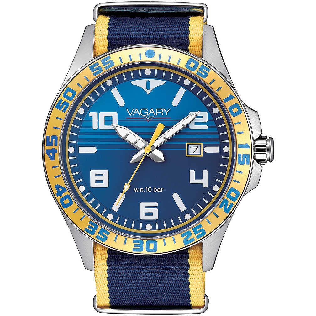 Orologio Vagary by Citizen Aqua 39 IB7-317-70 uomo 43mm