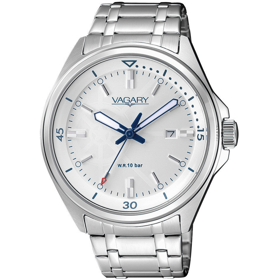 Orologio Vagary by Citizen Aqua 39 IB7-911-11 uomo 42mm