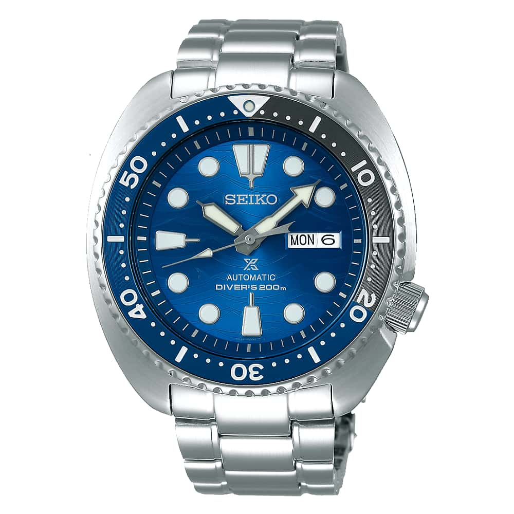 Orologio Seiko Prospex Turtle Save The Ocean Great White Shark SRPD21K1 Special Edition - 2b Gioielli