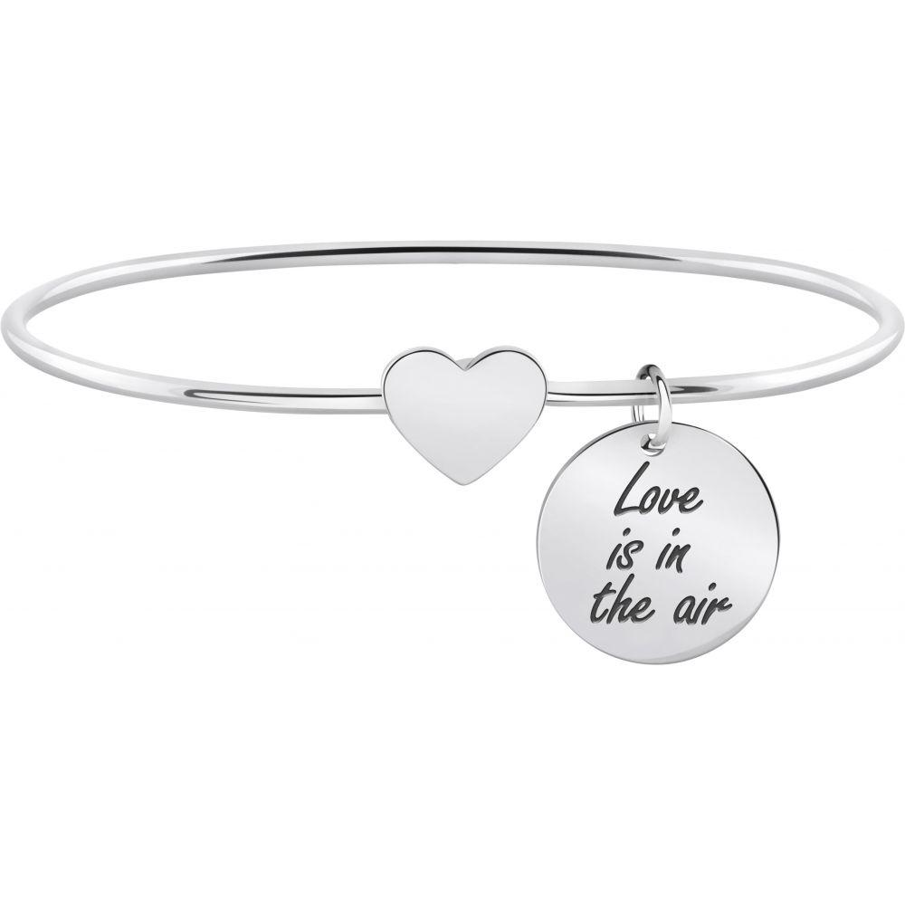 08bdbe0254d619 Bracciale Morellato Talismani SAQE20 donna rigido cuore Love is in the air