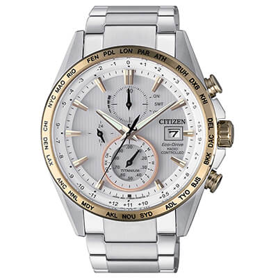 Orologio Citizen H800 Super Titanio AT8156-87A zaffiro 42mm
