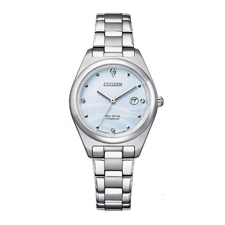 Orologio Citizen Lady Super Titanio EW2600-83A con diamanti-2b Gioielli