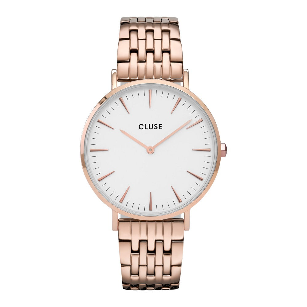 Orologio Cluse La Boheme Rose Gold White/Rose Gold CW0101201024
