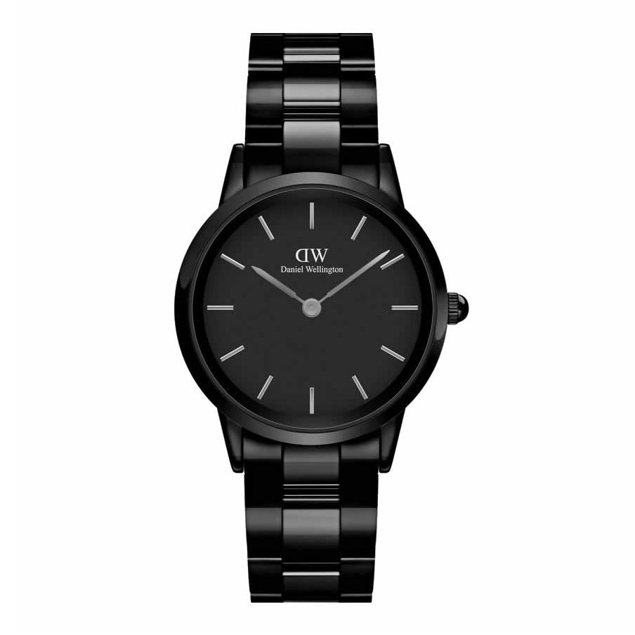 Orologio DW Iconic Ceramic 32mm Black DW00100414 donna-2b Gioielli