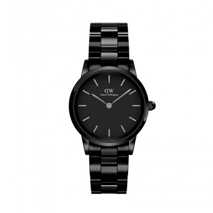 Orologio DW Iconic Ceramic 28mm Black DW00100415 donna-2b Gioielli