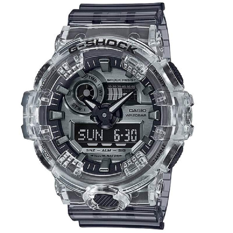 Orologio Casio G-Shock GA-700SK-1AER Skeleton Series Limited Edition-2b Gioielli