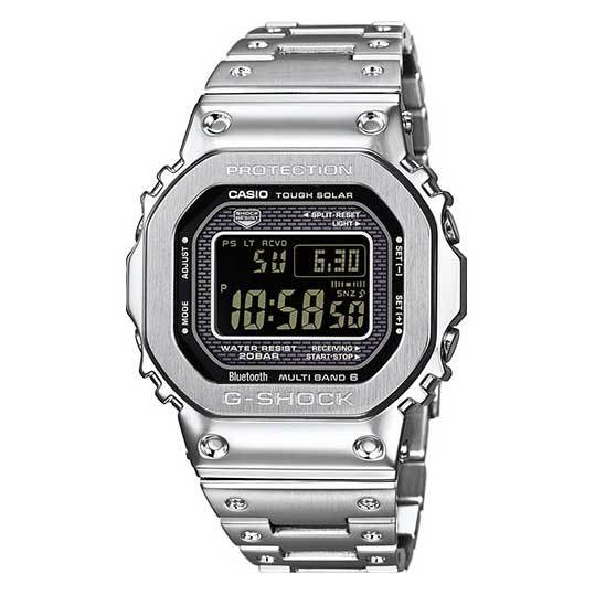 Orologio Casio G-Shock GMW-B5000D-1NER Full Metal Negative Display-2b Gioielli
