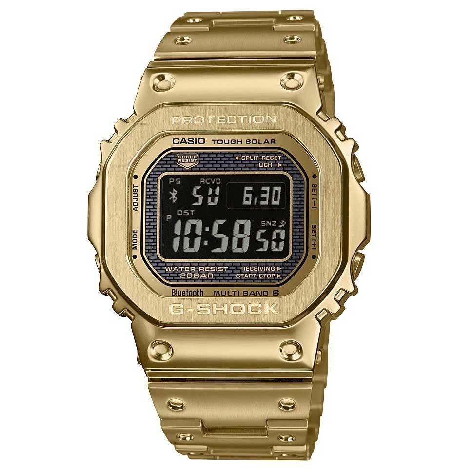 Orologio Casio G-Shock GMW-B5000GD-9ER Full Gold Metal-2b Gioielli