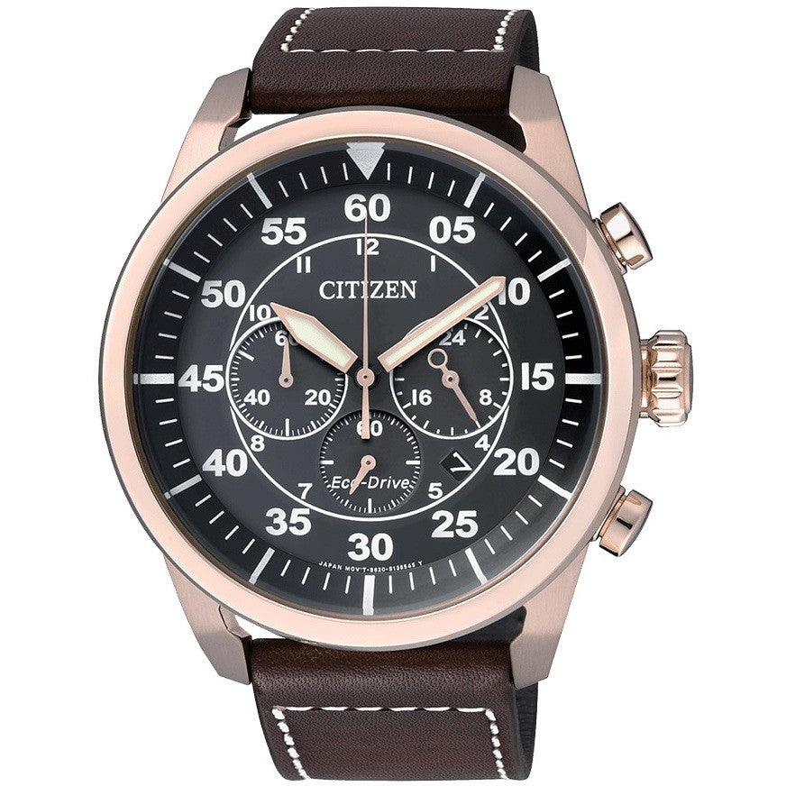 Orologio Citizen Of Collection CA4213-00E Aviator Crono 45mm