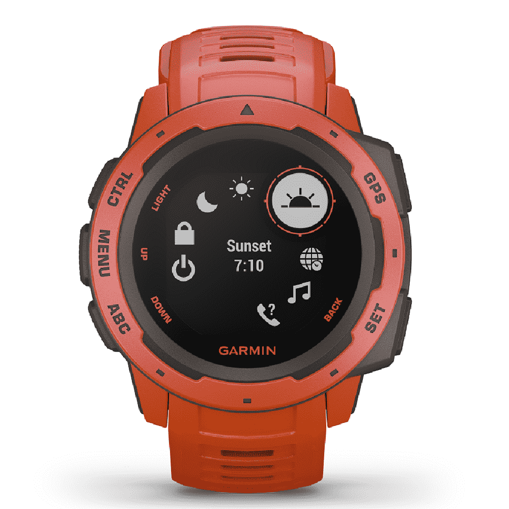 Orologio Garmin Instinct Flame Red smartwatch uomo 45mm 010-02064-02-2b Gioielli