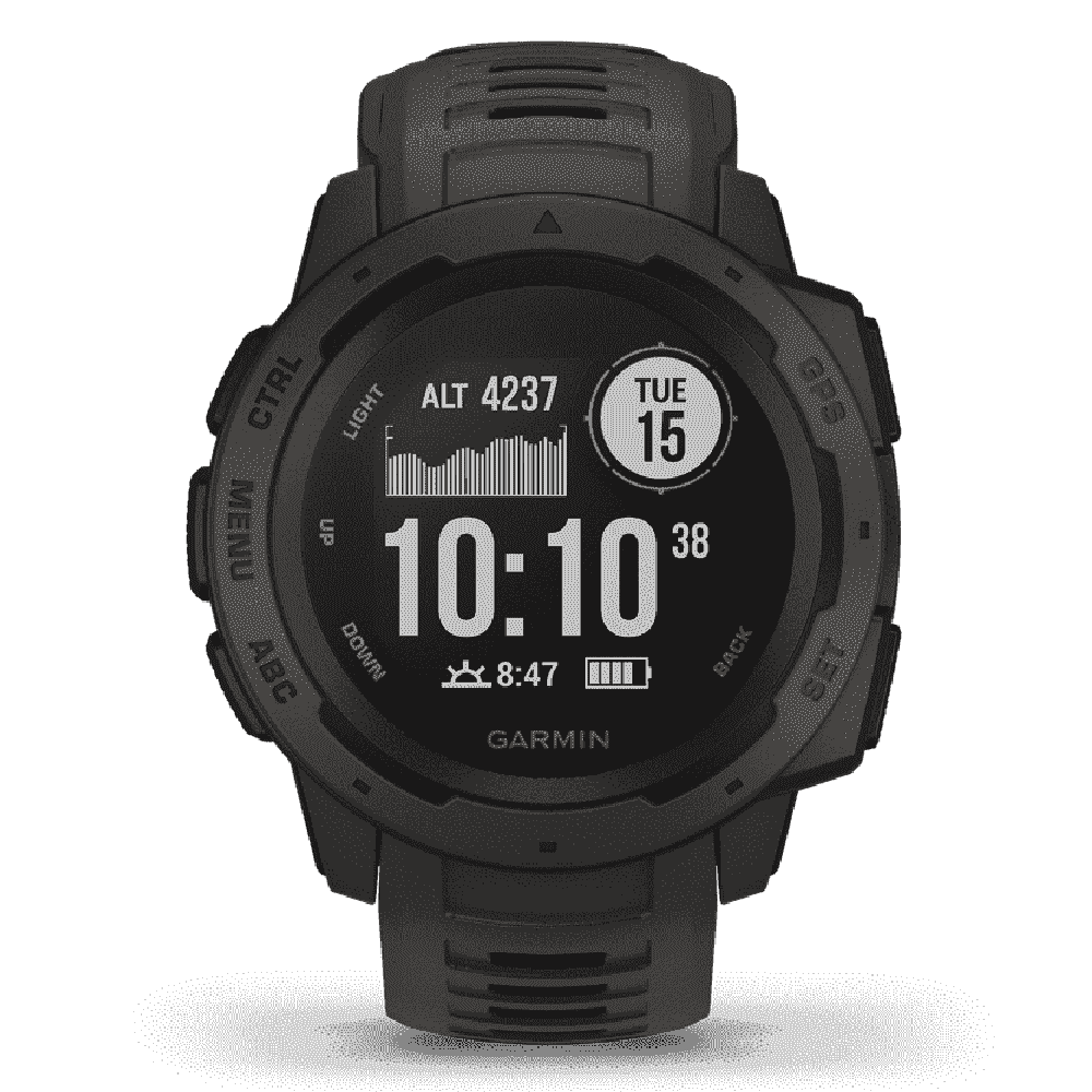 Orologio Garmin Instinct Graphite smartwatch uomo 45mm 010-02064-00