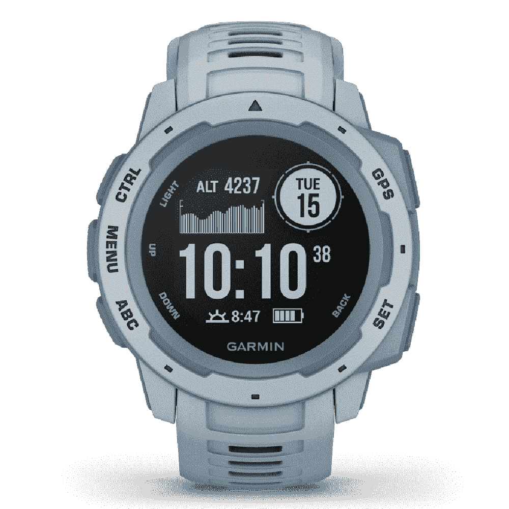 Orologio Garmin Instinct Sea Foam smartwatch uomo 45mm 010-02064-05-2b Gioielli