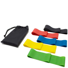 Load image into Gallery viewer, RUNACC Workout Sliders with Anti-slip Feet Covers and 5 Resistance Bands