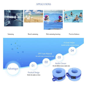 RUNACC Foam Swim Aquatic Cuffs