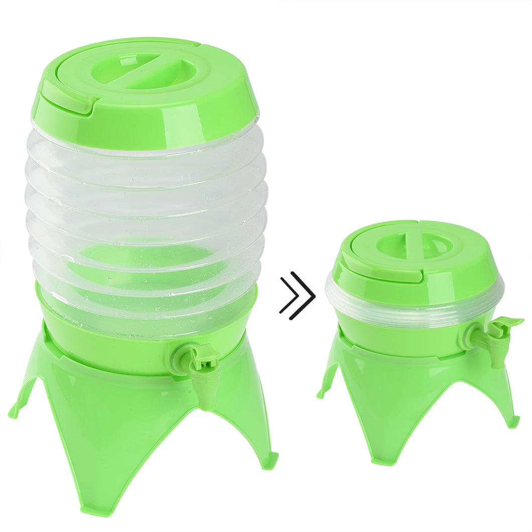 RUNACC 5.5 L Outdoor Folding Water Container with Tap